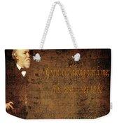 Robert Browning 1 Weekender Tote Bag