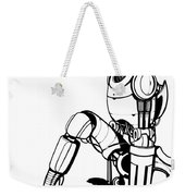 Robot Weekender Tote Bag