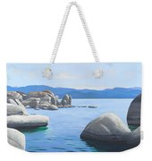 Rocky Cove On Lake Tahoe Weekender Tote Bag