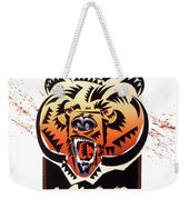 Rocky Mountain Grizzly Weekender Tote Bag