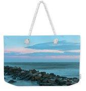 Rocky Shores Sunrise Weekender Tote Bag