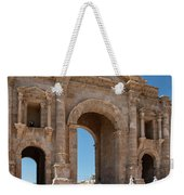 Roman Arched Entry Weekender Tote Bag by Mae Wertz