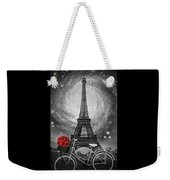 Romance At The Eiffel Tower Weekender Tote Bag