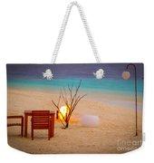 Romantic Beach Weekender Tote Bag