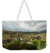 Rooftops Of Ambleside In Early Morning In The Lake District Weekender Tote Bag