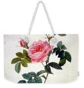Rosa Inermis Weekender Tote Bag