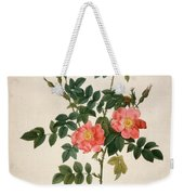 Rosa Rubiginosa Weekender Tote Bag