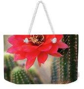 Rose Quartz Cactus Flower  Weekender Tote Bag