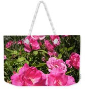 Roses Up To The Sky Weekender Tote Bag by Arik Baltinester