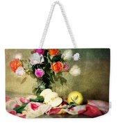 Rosy Pallet Weekender Tote Bag