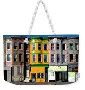 Row Houses Baltimore Weekender Tote Bag