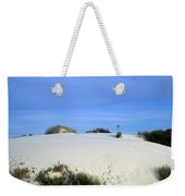 Rrippled Sand Dunes In White Sands National Monument, New Mexico - Newm500 00111 Weekender Tote Bag