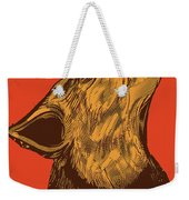 Rubino Wolf Dog Love One World Weekender Tote Bag