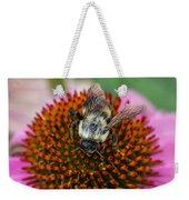 Rudbeckia Coneflower With Bee, Canada Weekender Tote Bag