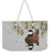 Ruddy Duck, Plumas County California Weekender Tote Bag
