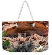 Ruins At Butler On The San Juan River  Weekender Tote Bag