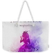 Run Wild With Your Imagination Weekender Tote Bag