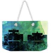 Rush Watercolor Weekender Tote Bag