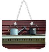Rustic Watering Cans  Weekender Tote Bag