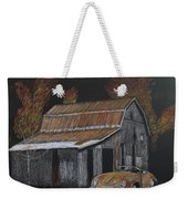 Rusty Autumn Colours Weekender Tote Bag by Richard Le Page