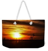 Rusty Sunset Weekender Tote Bag