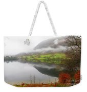 Rydal Water On A Misty Day In December Weekender Tote Bag