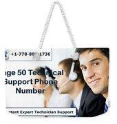 Sage Customer Support Number Usa  Weekender Tote Bag