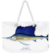 Sailfish Weekender Tote Bag