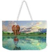 Sailing Away Daydream Steampunk Custom Weekender Tote Bag