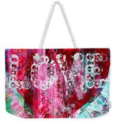 Saint Valentines Day Weekender Tote Bag