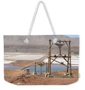 Salt Pans And 200 Yr Old Cable Car Winches Weekender Tote Bag