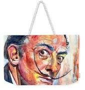 Salvador Dali Portrait Weekender Tote Bag