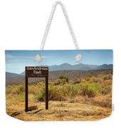 San Andreas Fault Weekender Tote Bag