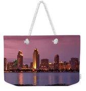 San Diego Panorama Weekender Tote Bag