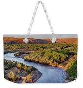 San Juan River At Sunrise Weekender Tote Bag