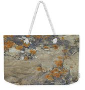 Sand, Charcoal, And Rust Weekender Tote Bag