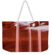 Sand Of Time Weekender Tote Bag by Dheeraj Mutha