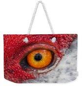 Sandhill Crane Eye Weekender Tote Bag