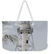 Sanibel Lighthouse Weekender Tote Bag