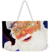 Santa Knows Weekender Tote Bag