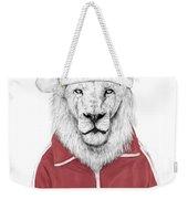 Santa Lion  Weekender Tote Bag