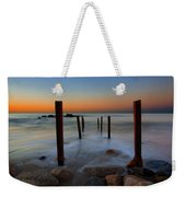 Santa Monica Sunrise Weekender Tote Bag