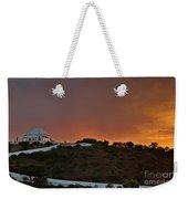 Santuario De Nossa Senhora Da Piedade At Sunset In Loule Weekender Tote Bag