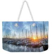 Sausalito California Morning Airs Weekender Tote Bag