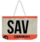 Sav Savannah Luggage Tag I Weekender Tote Bag