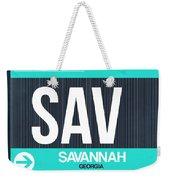 Sav Savannah Luggage Tag II Weekender Tote Bag