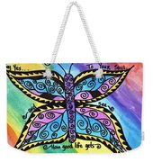 Say Yes To Your Soul Weekender Tote Bag