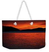 Scarlet Weekender Tote Bag by Doug Gibbons
