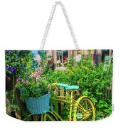 Scenic Garden And Antiques Store Weekender Tote Bag