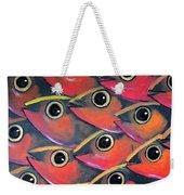 School Of Eyes Weekender Tote Bag